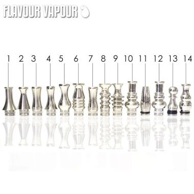 Flavour Vapour Stainless Steel Drip Tips