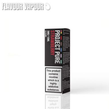 Project Pure Strawberry e-liquid
