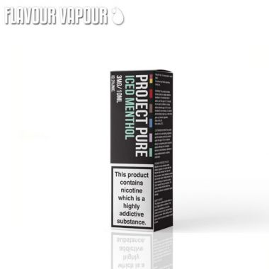 Project Pure Iced Menthol e-liquid