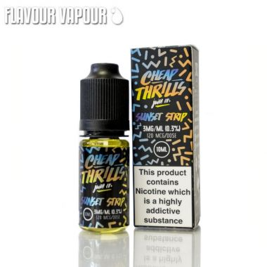 Cheap thrills sunset strip 10ml TPD compliant