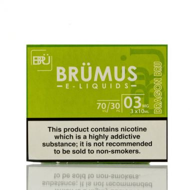 Brümus Dragon 3 x 10ml e-liquid