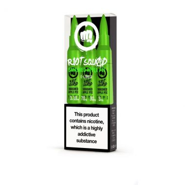 Riot Squad Smashed Apple Pie E liquid