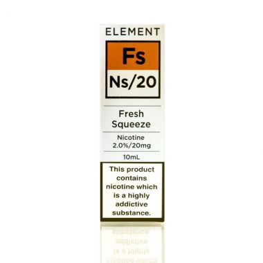 Fresh Squeeze Element Nic Salt e-liquid UK