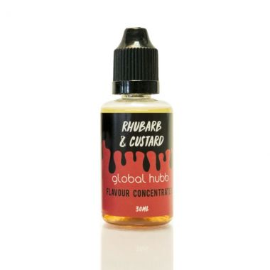 Rhubarb and Custard Flavour Concentrate Global Hubb DIY E-liquid UK