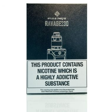 Wismec Ravage230 Kit Packaging  UK