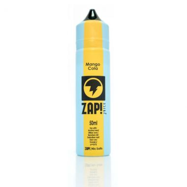 Zap Juice E-liquid Mango Cola UK Ecig store...