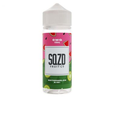 SQZD-WatermelonKiwi-E-liquid-100ml-0mg-Shortfill-UK