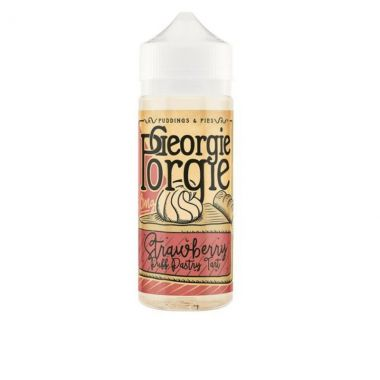 GeorgiePorgie-StrawberryPuffPastryTart-E-liquid-100ml-0mg-Shortfill-UK