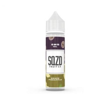 SQZD-GrapePineapple-E-liquid-50ml-0mg-Shortfill-UK