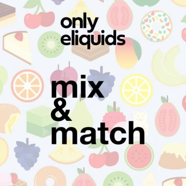 Only eLiquids UK e-liquid mix and match