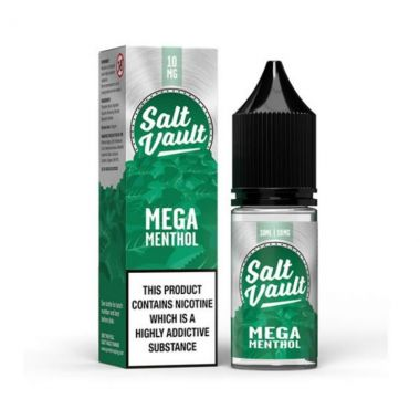 Salt Vault Mega Menthol salt nic e-liquid UK