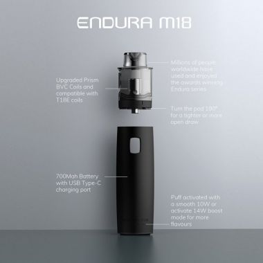 Innokin Endura M18 Pod Kit Information UK