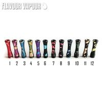 Flavour Vapour 510 Long  Splatter Design Drip Tips