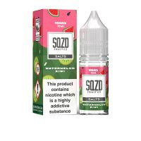 SQZD Fruit Co. Watermelon Kiwi Nic Salt 10ml E-liquid