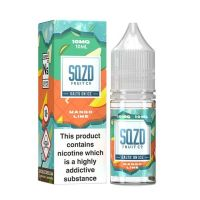 SQZD Fruit Co. Mango Lime On Ice Nic Salt 10ml E-liquid