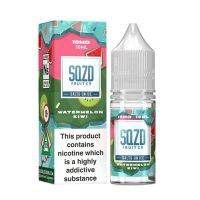 SQZD Fruit Co. Watermelon Kiwi On Ice Nic Salt 10ml E-liquid